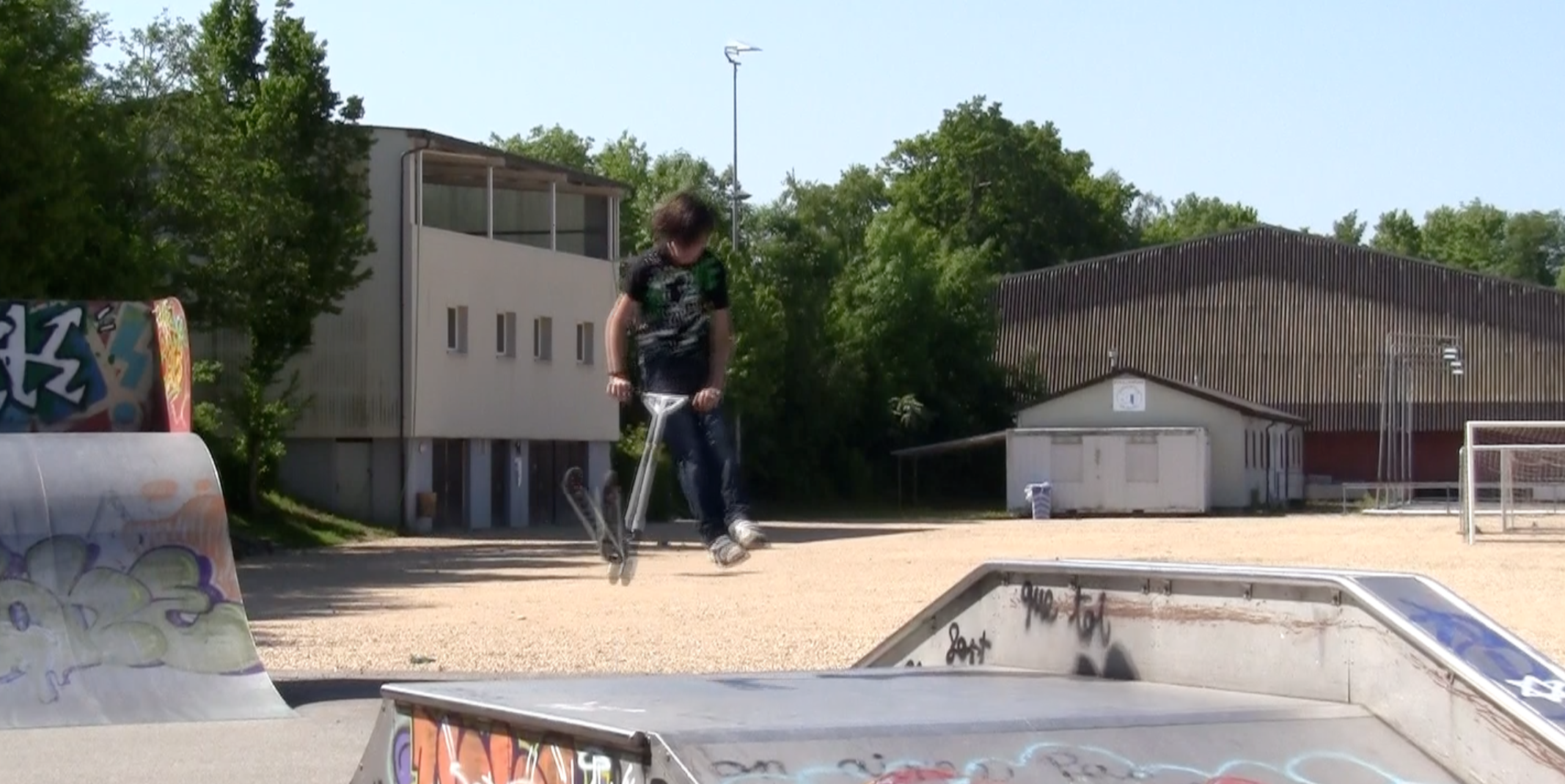 video trotinette freestyle